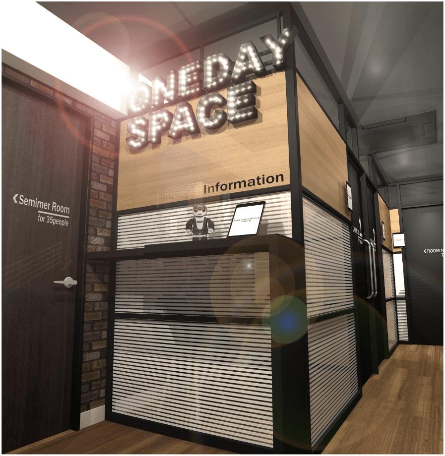 東京・代々木のレンタル会議室「ONE DAY OFFICE TOKYO」